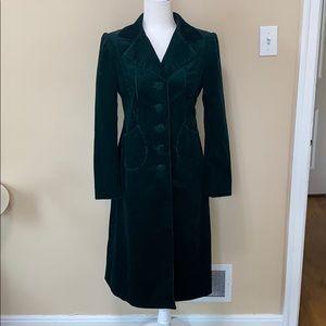 1990s Emerald Green Corduroy Jacket w/ Lining